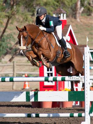 Alexandra Slusher Jumping
