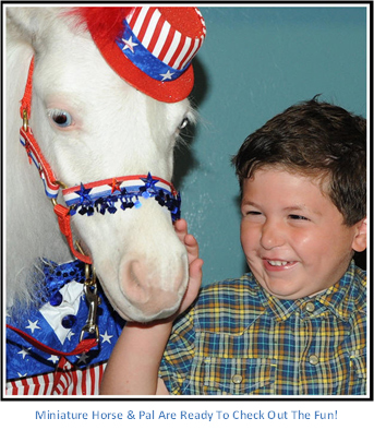Gentle Carousel Therapy Horse