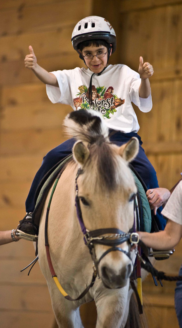Lovelane Special Needs Therapeutic Riding Program Has