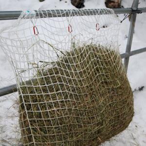 haynet in winter