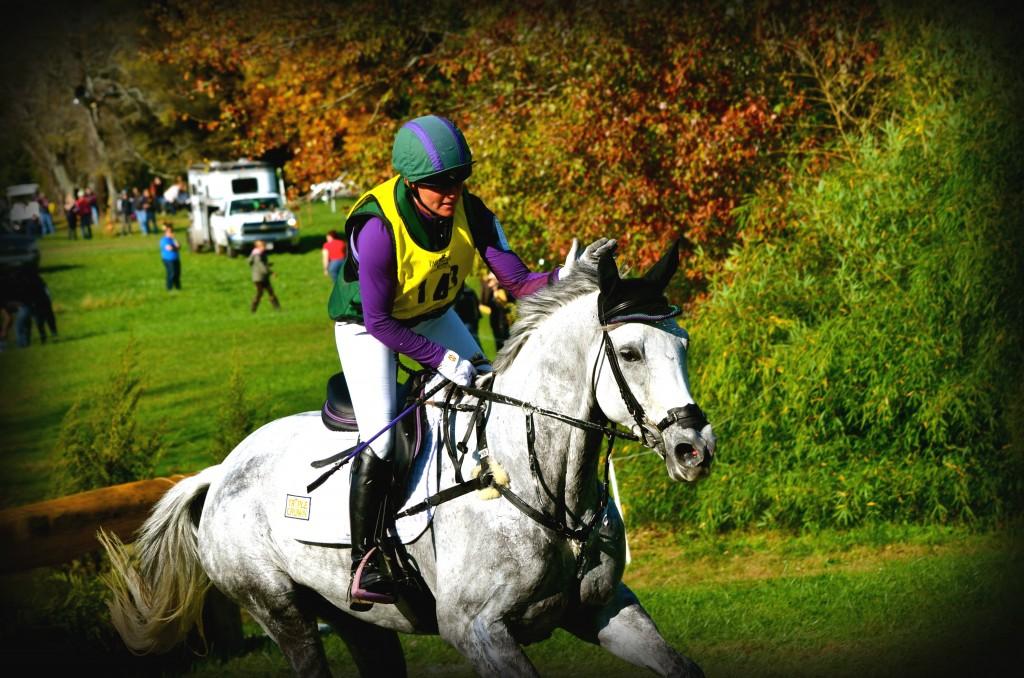 Sponsored rider, Emily Beshear.