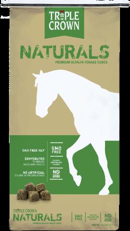 Naturals Premium Alfalfa Forage Cubes - Triple Crown Feed