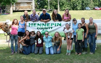 group 4-H kids