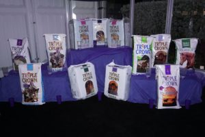 Triple crown feed and forage products