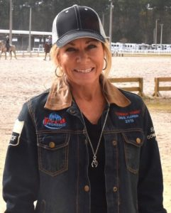female barrel racer
