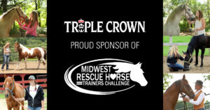 Triple Crown sponsorship banner