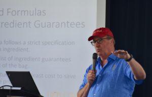 Man presenting powerpoint